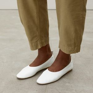 Everlane The Italian Leather Day Glove in White
